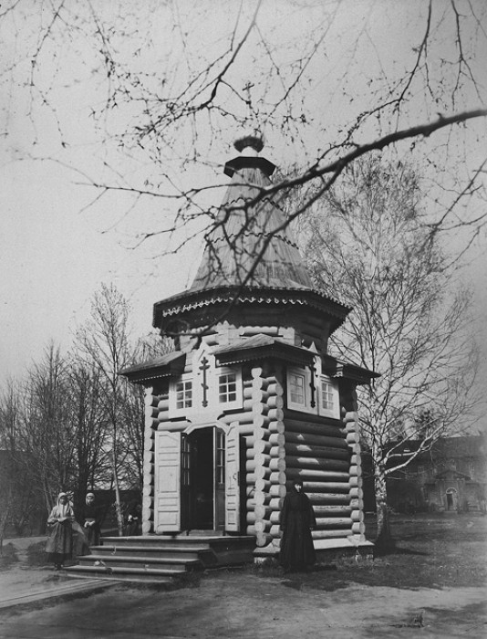 Часовня на месте, где была построена мельница по благословению преподобного Серафима