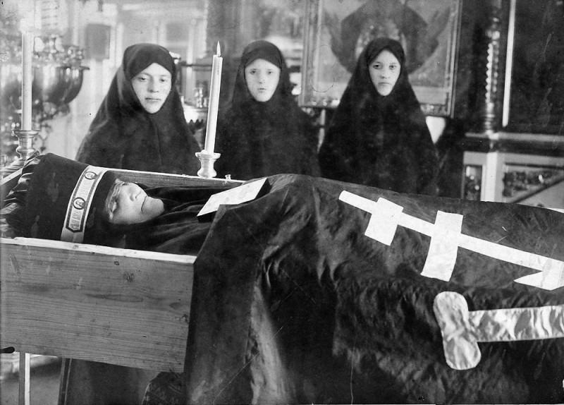 A nun's funeral