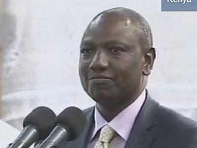 Video: Kenyan deputy president strongly rebuffs Obama on gay 'marriage': 'We believe in God'