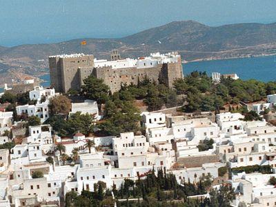 Patmos, a popular destination for Russian tourists