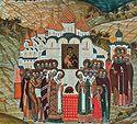 Всенощное бдение в Сретенском монастыре накануне Недели 2-й по Пятидесятнице, Всех святых в земле Российской просиявших