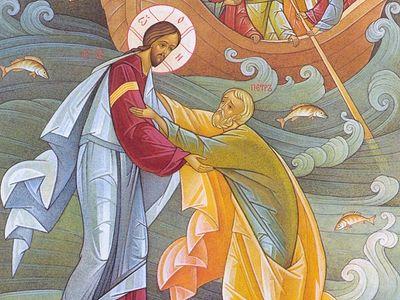 Апостол Петр: идущий по волнам