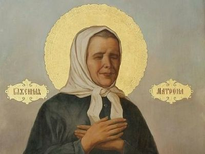 The Church introduces a new feast-day of St Matrona of Moscow on March 8