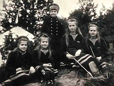 Russia's Crown Jewels: The Royal Martyr Children