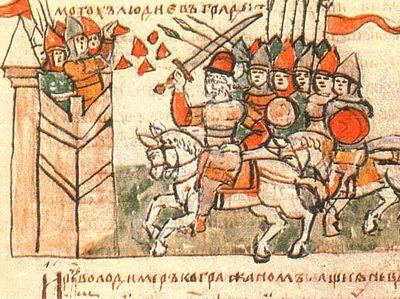 Отражение дипломатии святого князя Владимира в древнерусской гимнографии