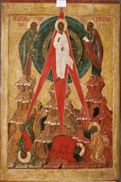 Преображение Господне. Икона. Псков. XVI в.