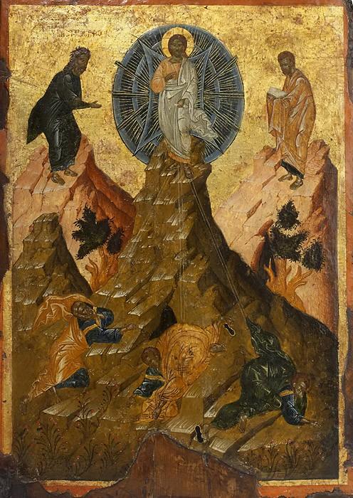 Преображение Господне. Греция. XVI в.