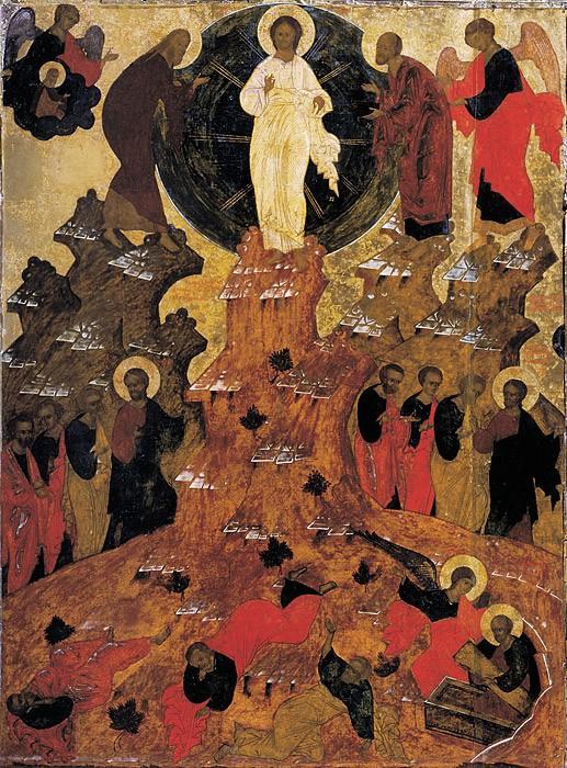 Преображение Господне. Икона. Россия. XVII в. Сольвычегодский музей