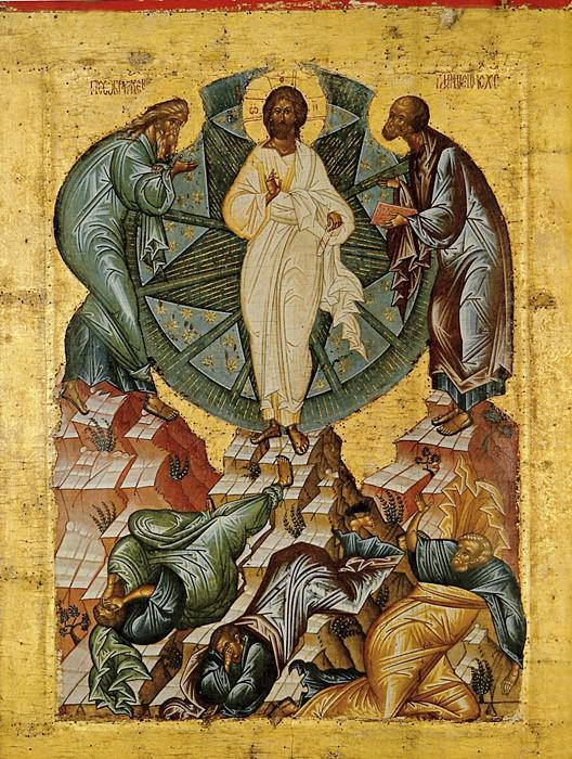 Преображение Господне. Икона. Россия. XV в. Кирилло-Белозерский музей