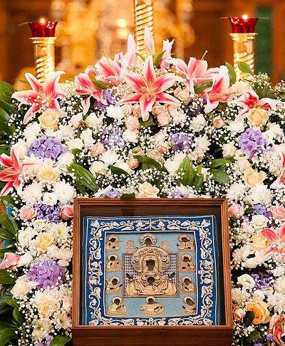 В Россию прибыла Курская-Коренная икона Божией Матери