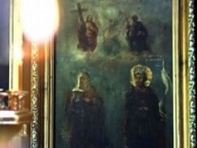 Icons stolen by the English during the Crimean war return to Sevastopol