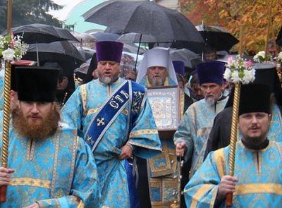 В Курске объявлен выходным день крестного хода с Курской-Коренной иконой Божией Матери