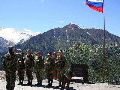 На российской военной базе в Абхазии заложили храм