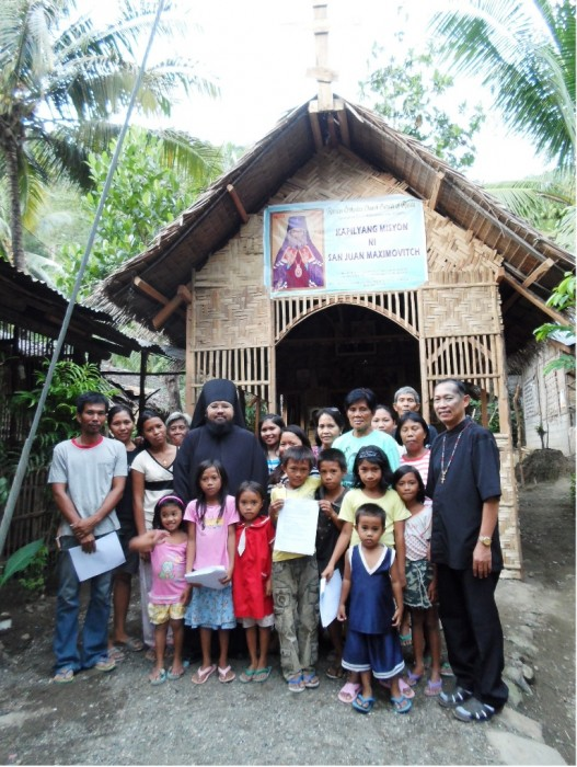 New converts to Orthodoxy. The community of St. John of Shanghai, Davao del Sur, the Philippines