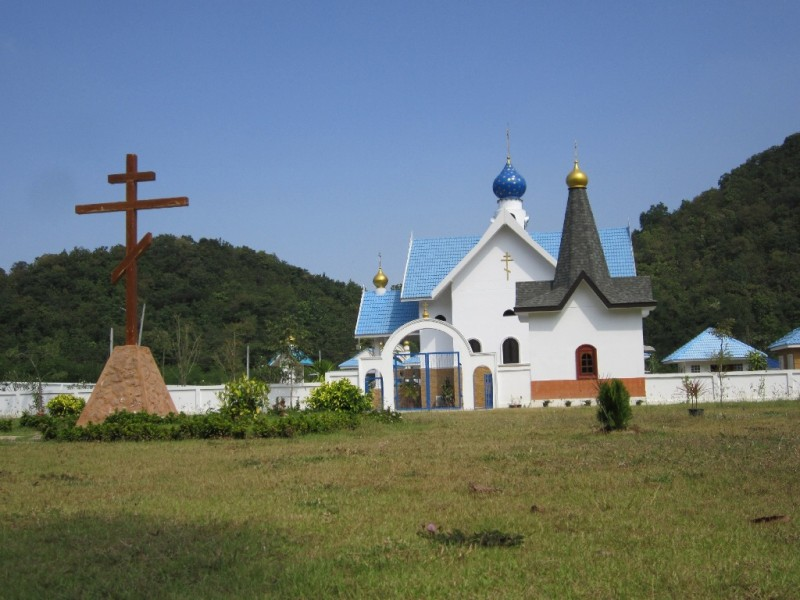 The Monastery of the Dormition in Ratchaburi Province, Thailand
