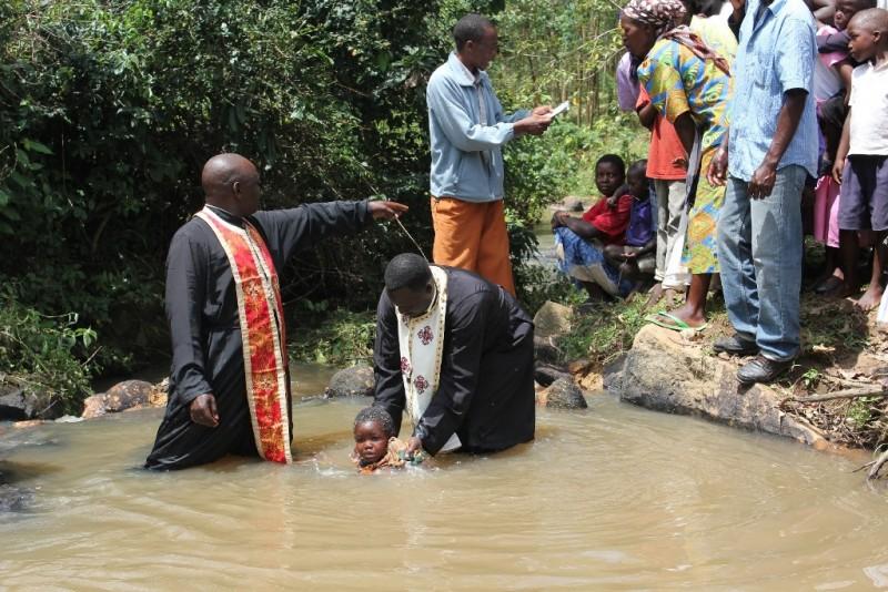 A Baptism in Kenya