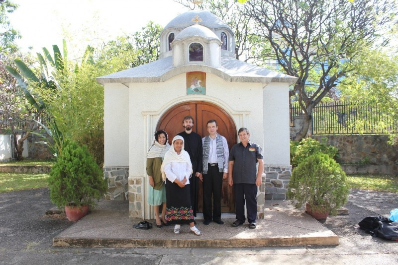 The Church of Great Martyr George in Pnom Pen, Cambodia, built in memory of the Bulgarian peacekeepers who died there