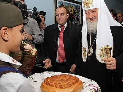 Начался визит Святейшего Патриарха Кирилла в Сербскую Православную Церковь