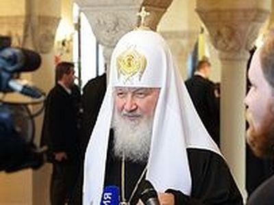 Патриарх Кирилл: Дай Бог, чтобы современная Европа не разрушила свою связь со святым Константином и делом его жизни