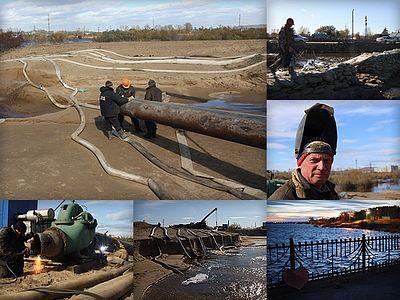 Наводнение в городе юности. ФОТОРЕПОРТАЖ