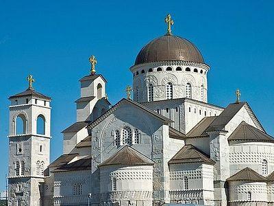 Предстоятели Поместных Церквей совершили освящение собора Воскресения Христова в Подгорице
