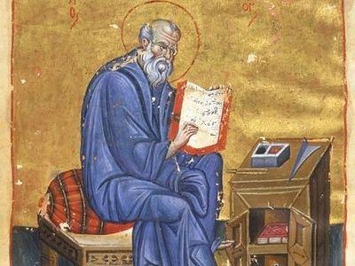 Образ св. Иоанна Богослова в кондаках прп. Романа Сладкопевца