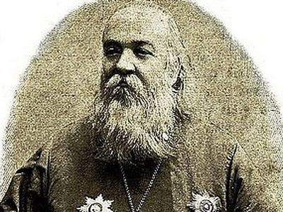 Литию на могиле первого протопресвитера военного духовенства Российской Империи совершил архиепископ Максимилиан