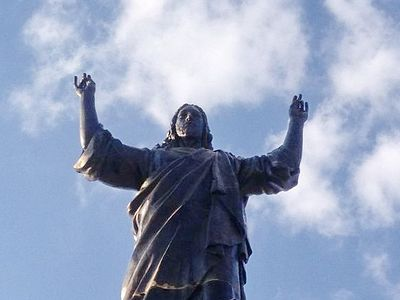Muscovite Builds Record-Breaking Jesus Statue in Syria