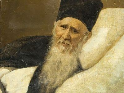 Об иером. Данииле (Болотове) – авторе портрета старца Амвросия