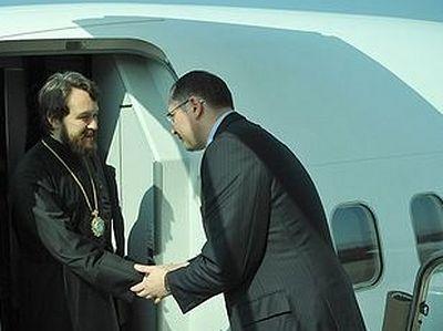 Делегация Русской Церкви прибыла в Пусан для участия в Х Генеральной ассамблее Всемирного совета церквей