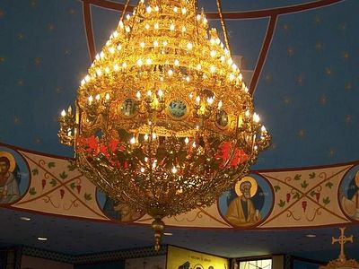 Festival tours offer chance to explore art and history in Greek Orthodox church