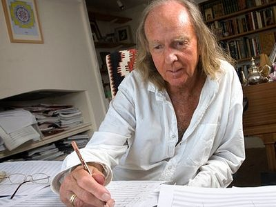 John Tavener dies at 69; Composer with eye on God