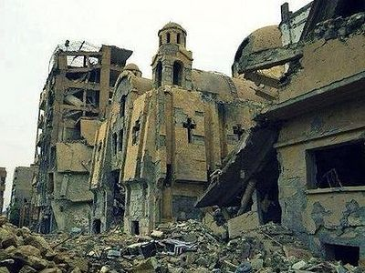 Over 60 churches and monasteries destroyed in Syria