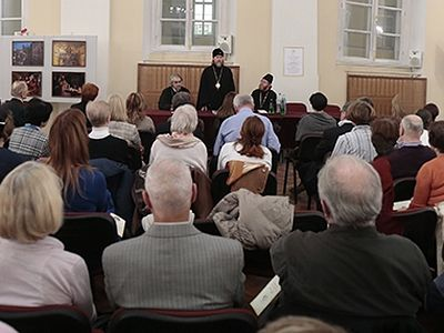 Evening dedicated to 10th anniversary of the parish of Holy Myrrh-bearing Women in Venice takes place in Moscow