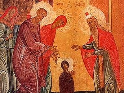 The Entry of the Theotokos into the Temple