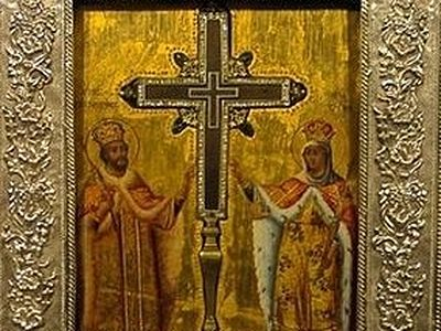 Relic of the Holy Cross arrives in London from Jerusalem