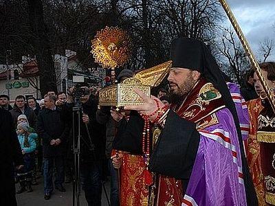 В Киев прибывает десница святого великомученика Георгия Победносца