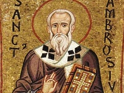 St. Ambrose of Milan