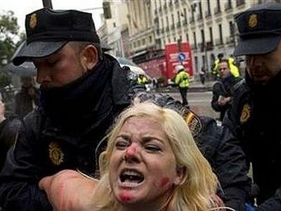 Активистки 'FEMEN