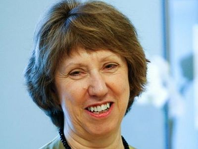 Guest of honor for Christmas Mass in Bethlehem: Catherine Ashton