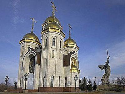 Настоятель храма Всех Святых на Мамаевом кургане: Город держится, как в 1943