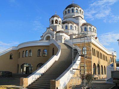 В Сочи освятили храм в честь Спаса Нерукотворного у Олимпийского парка