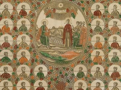 Древо рода Христова