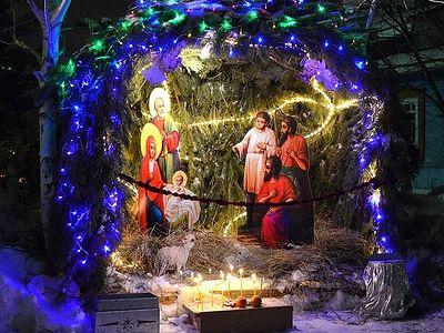 О Христе Рождающемся