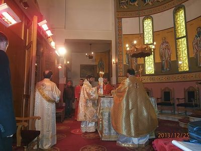 Orthodox Christmas in Albania