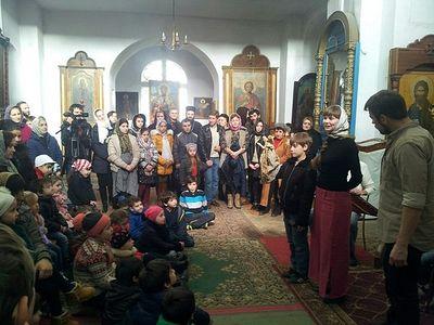 Рождественские представления для детей прошли в Абхазии