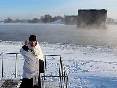 В Крещенский сочельник освятят воду на Новгородском водозаборе