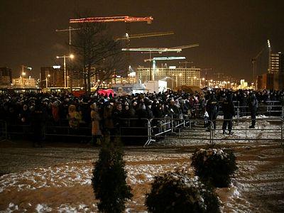 К Дарам волхвов в белорусской столице стоят более 12 тысяч человек