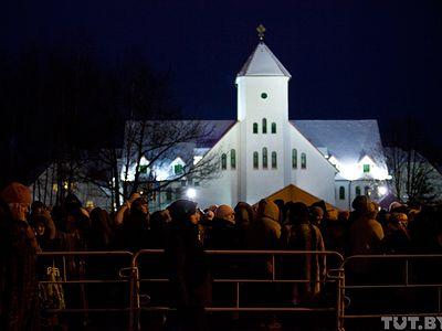 Около 90 тысяч человек уже поклонились Дарам волхвов в Минске