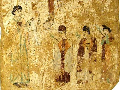 Burial of Nestorian Christians discovered in China